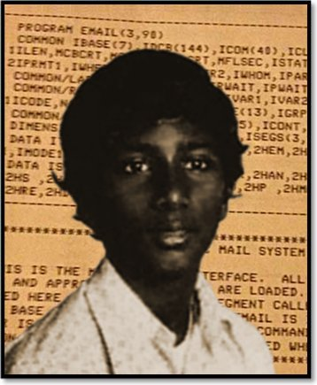 V. A. Shiva Ayyadurai, the inventor of email as a 14-year-old in Newark, NJ.