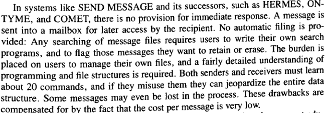 VA Shiva Ayyadurai,the Inventor of Email - False Claim – 6: Extract 3 from Staff Note on CTSS Message System
